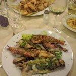 Grigliata mista di pesce e fritto misto
