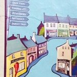 Kinsale wall map