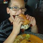 bacon double cheeseburger!