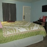 Large, sparkling clean, tastefully decorated room.
