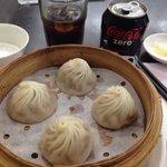 Shanghai dumplings & a Coke Zero. It doesn't get any better!