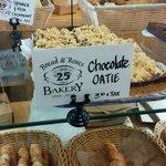 The chocolate oatie-INCREDIBLE!