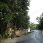 The road from Plaza Yara to Manuel Antonio Park