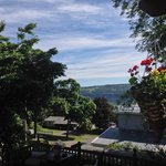 View of Seneca Lake from the porch
