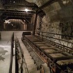 peering down the main mine shaft