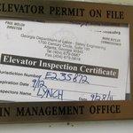 Expired Elevator Permit?