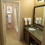 Bathroom, room 121