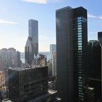 Vistas hacia el edificio de Naciones Unidas