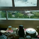 Room Service overlooking the falls