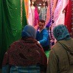 venta de telas para vestidos de las mujeres, la zona de la moda