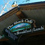 The Shack Cafe front sign