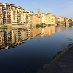 View of the Arno from near the hotel.