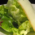 The Bibb lettuce salad