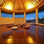 the meditation area !so beautiful