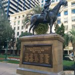 Dedicated to the Boer War as see from Adelaide Street entrance.