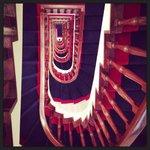 Stunning stairwell ...