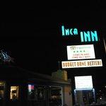 The Inca Inn sign