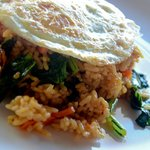 delicious nasi goreng for perfect- the best we tasted on our trip!