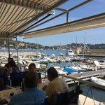 udsigt fra Club de la Mer