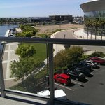 Day view outside King Suite Balcony Stockton Arena