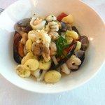 Gnocchetti di patate (fatti a mano) ai frutti di mare: squisiti