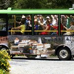 Fun little bus to take you up to the castle for 3 Euros