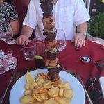 Lovely mixed kebab!
