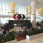 Gorgeous lobby bar
