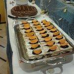 una delle tante torte dell'hotel clipper