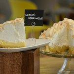Delicious homemade lemon meringue