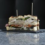 One of our favorites from the menu - a tasty club sandwich