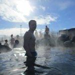 hottest hot spring - steamy!!