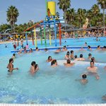 The biggest Jacuzzi of Andalucia's waterpark