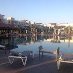 The huge pool!