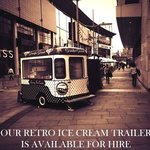 Why not bring our luxury hand made ice cream to you? Our retro trailer is available for hire.