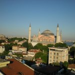 Aya Sophia from roof terrace