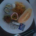 Godt utvalg i frokost buffet
