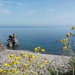 spiaggia punta scario a pochi passi dal turkiscu