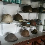 Helmets Used in the War