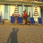 Tirrenia Continental: la spiaggia