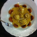Filete de lenguado a la naranja