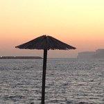 Sunset at ramla bay