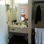 Vanity unit in bedroom