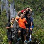 At the peak!