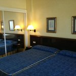 La habitación muy limpia y confortable