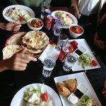 Bara en del av vår beställning, enorma portioner och riktigt gott!