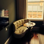 Executive suite, great for people watching!