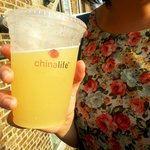 chinalife Queen Bee fruity iced tea cocktail