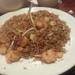 Shrimp and scallops fried rice
