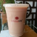 chinalife Sweet Smoky G milky iced tea cocktail